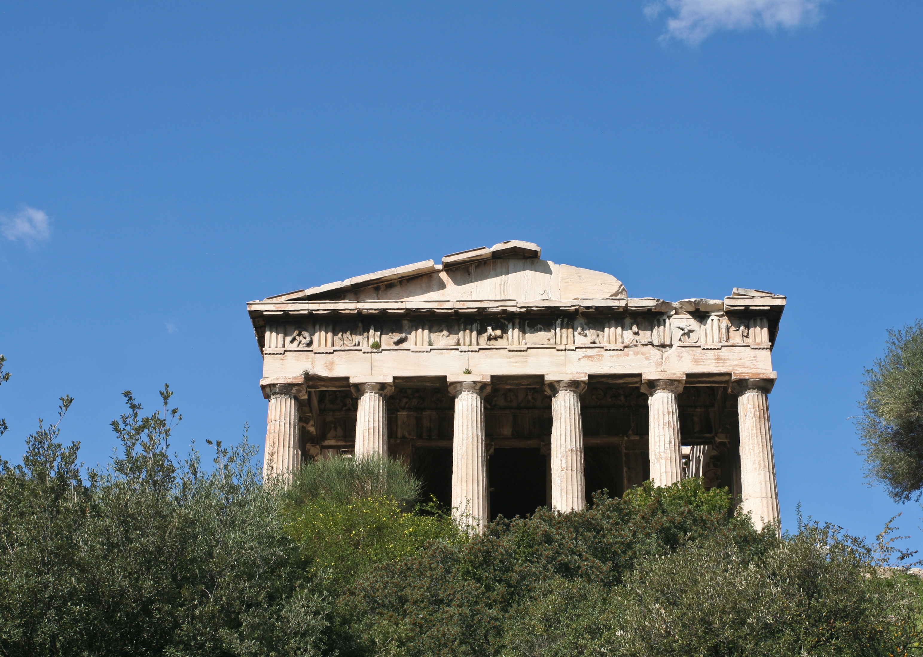 File:Temple of Hephaestus and Athena Ergane.jpg - Wikimedia Commons