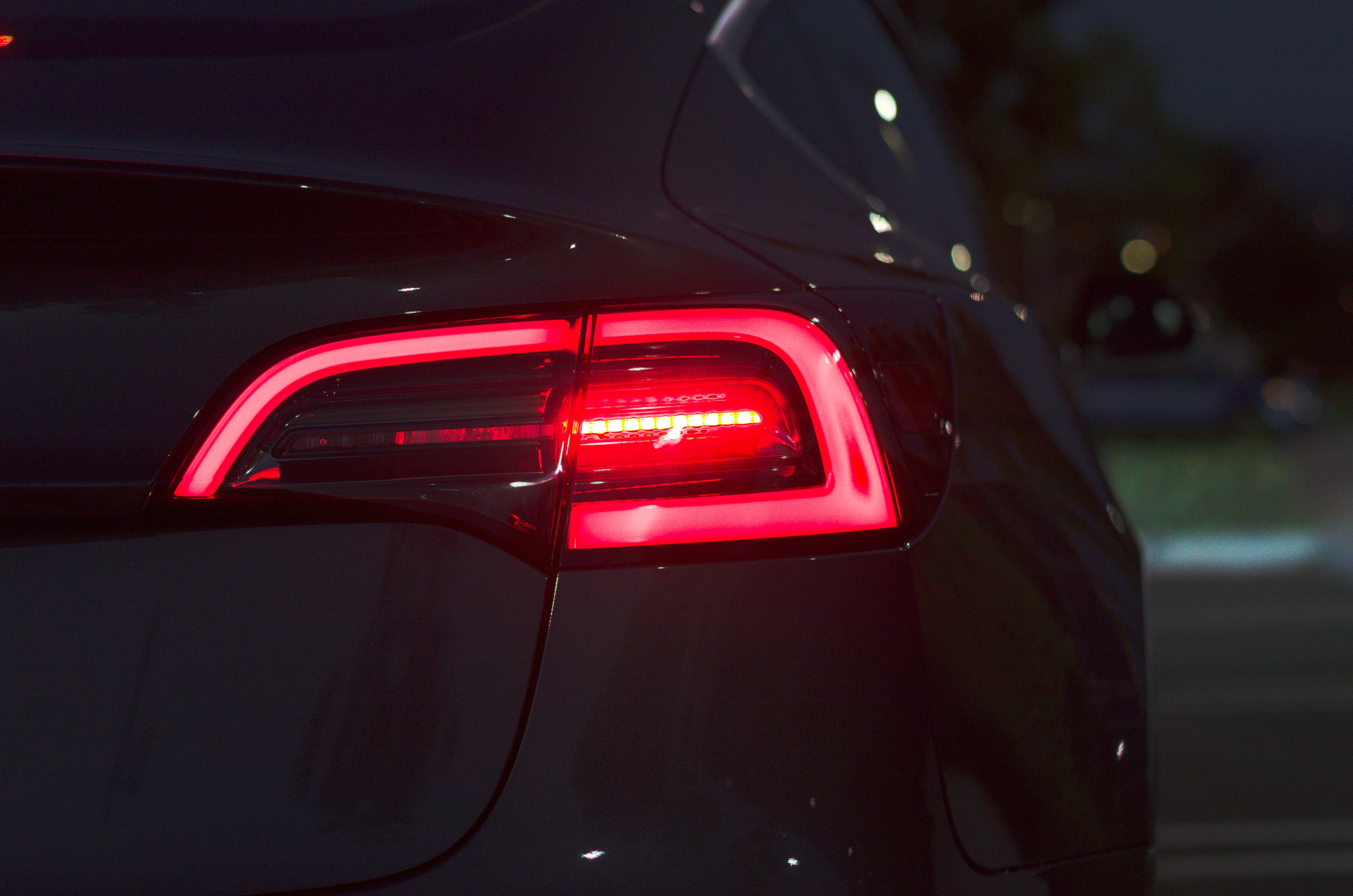 File:Tesla Model 3 Rear Light jpg - Wikimedia Commons