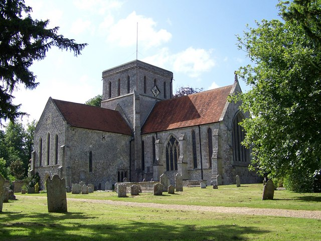 The Church of St Mary and St Melor, Amesbury - geograph.org.uk - 863787.jpg