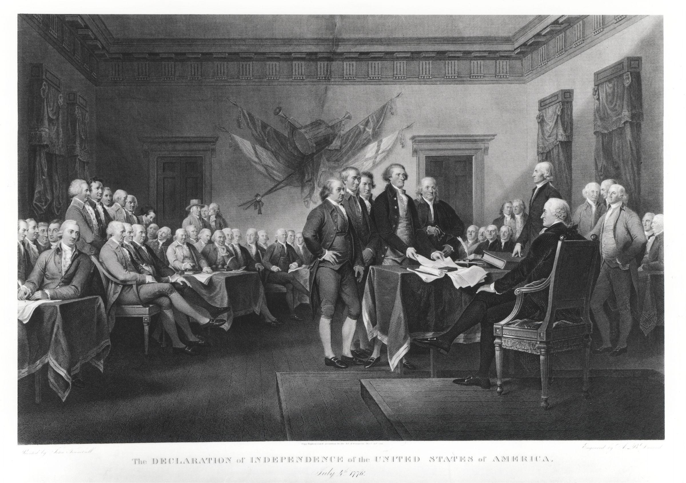 the declaration of independence of the united The declaration of independence is one of the most important documents in the history of the united states it was an official act taken by all 13 american colonies in declaring independence from british rule.