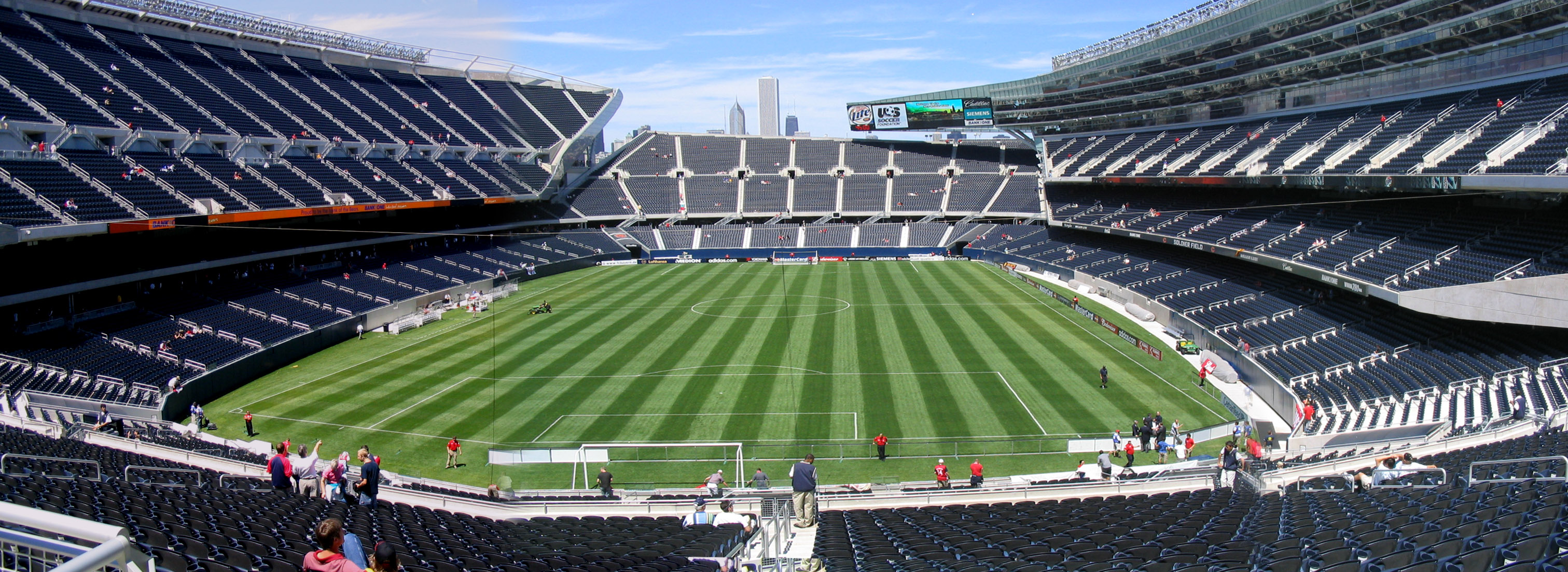 File The Refurbished Soldier Field Jpg Wikimedia Commons