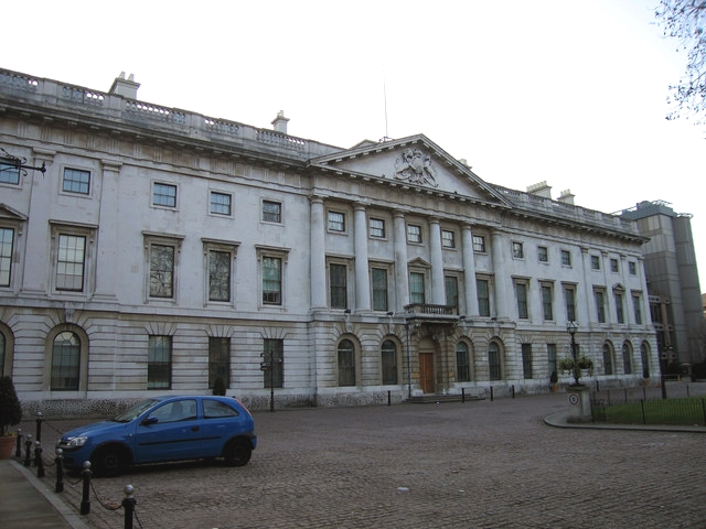 the historic Royal Mint building at the Tower Hill