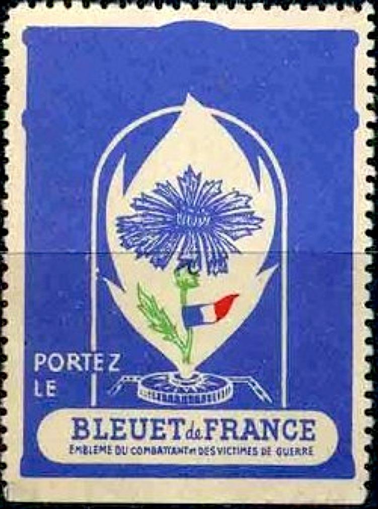 Timbre : le Bleuet de France - Wikipédia
