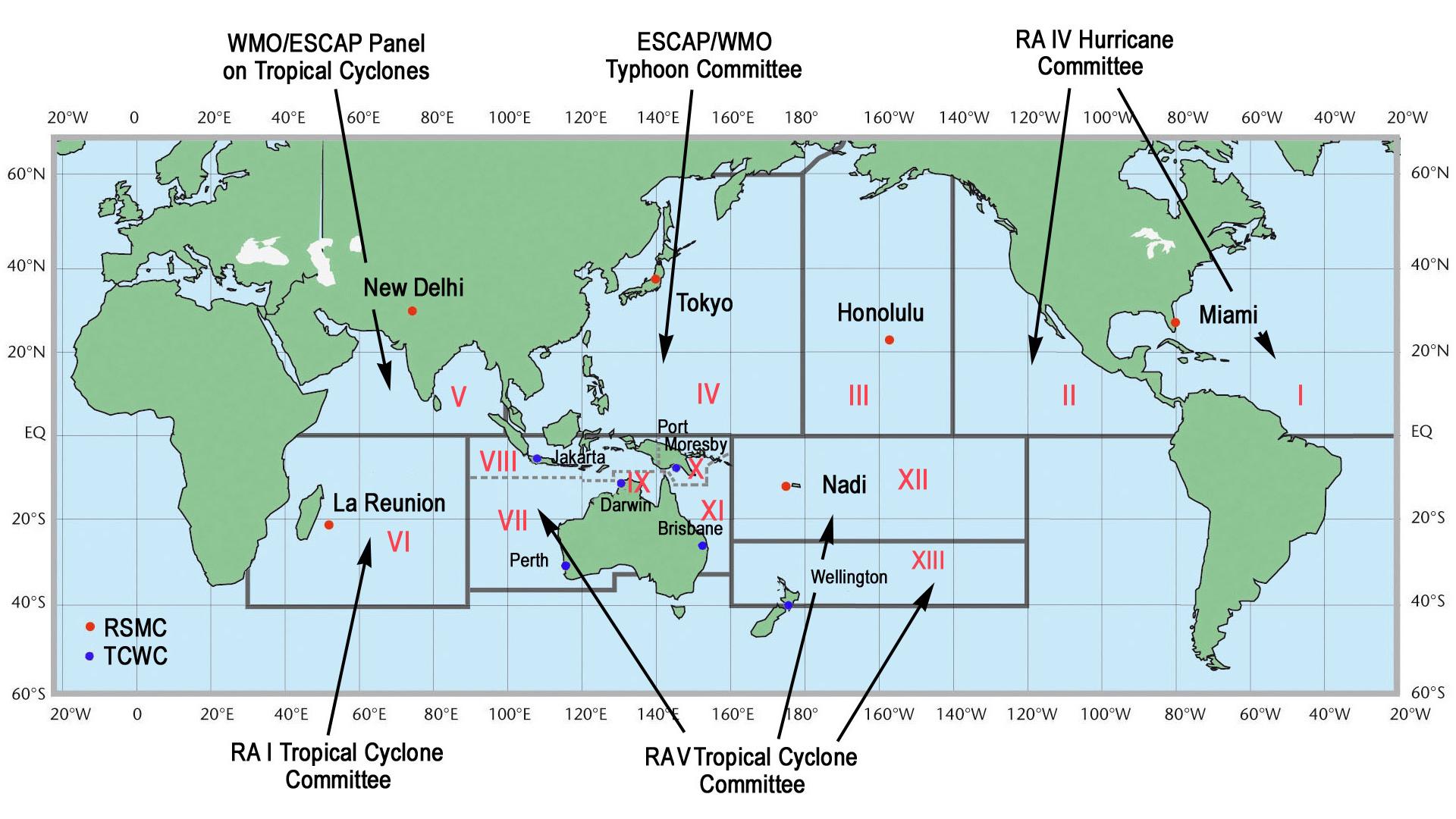 Tropical cyclone basins - Wikipedia