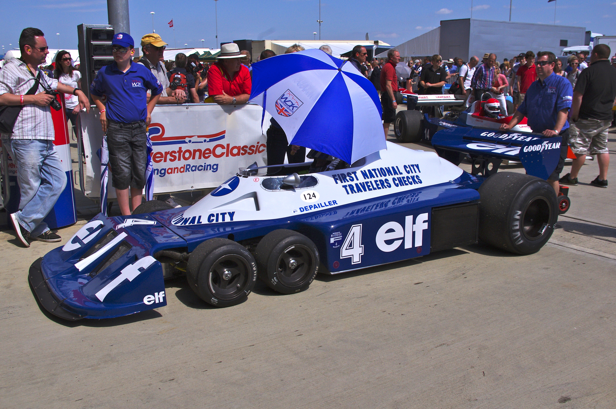 File:Tyrrell P34 at Silverstone Classic 2012 (1).jpg - Wikimedia Commons