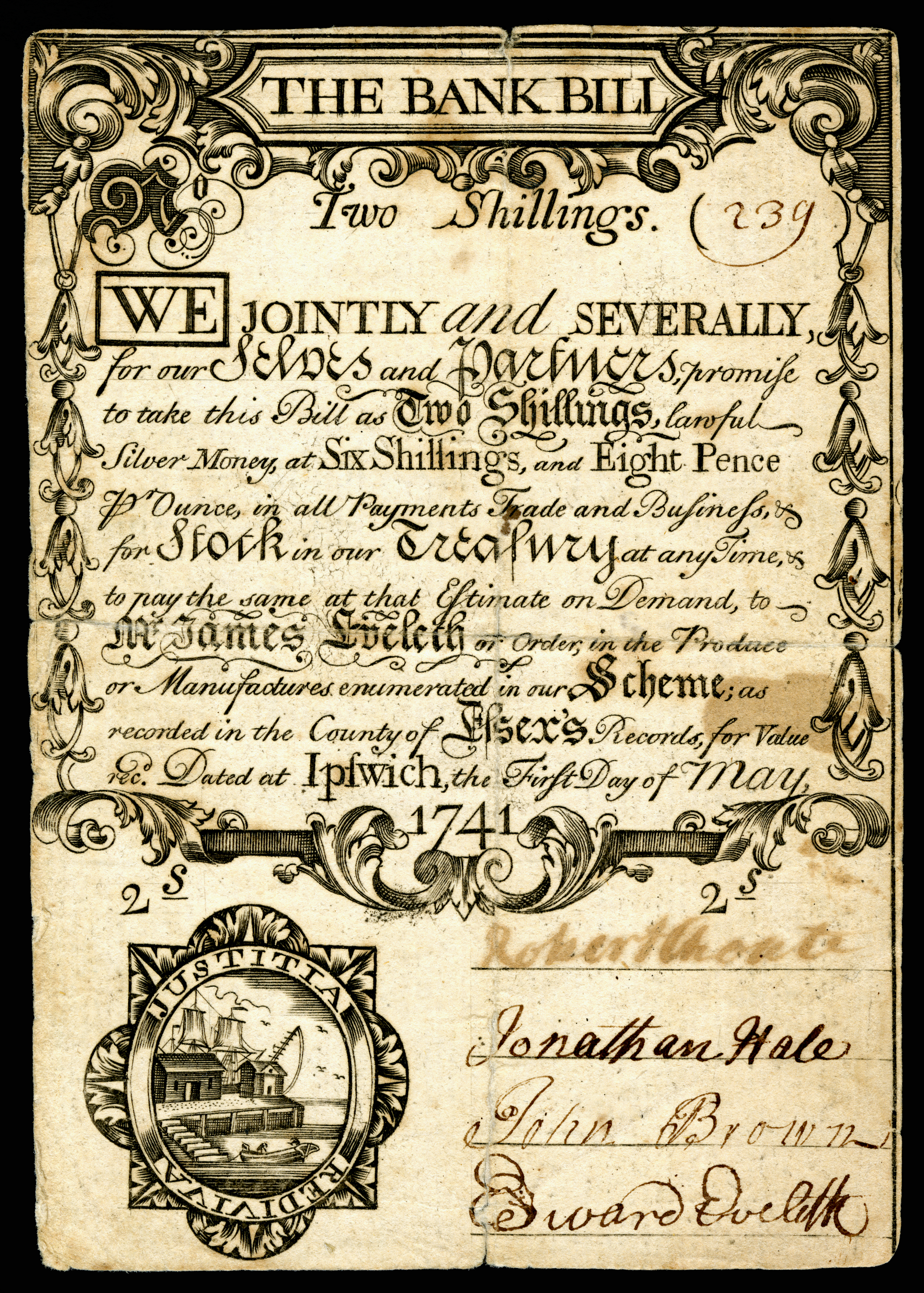 early american currency - wikipedia