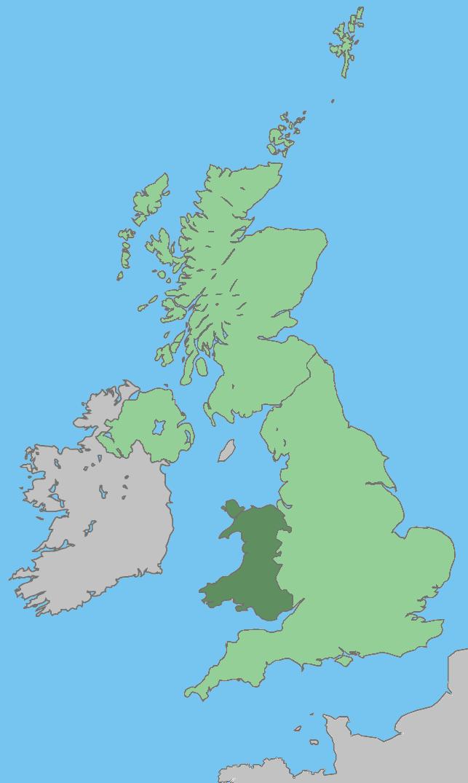 File Uk Map Wales Green