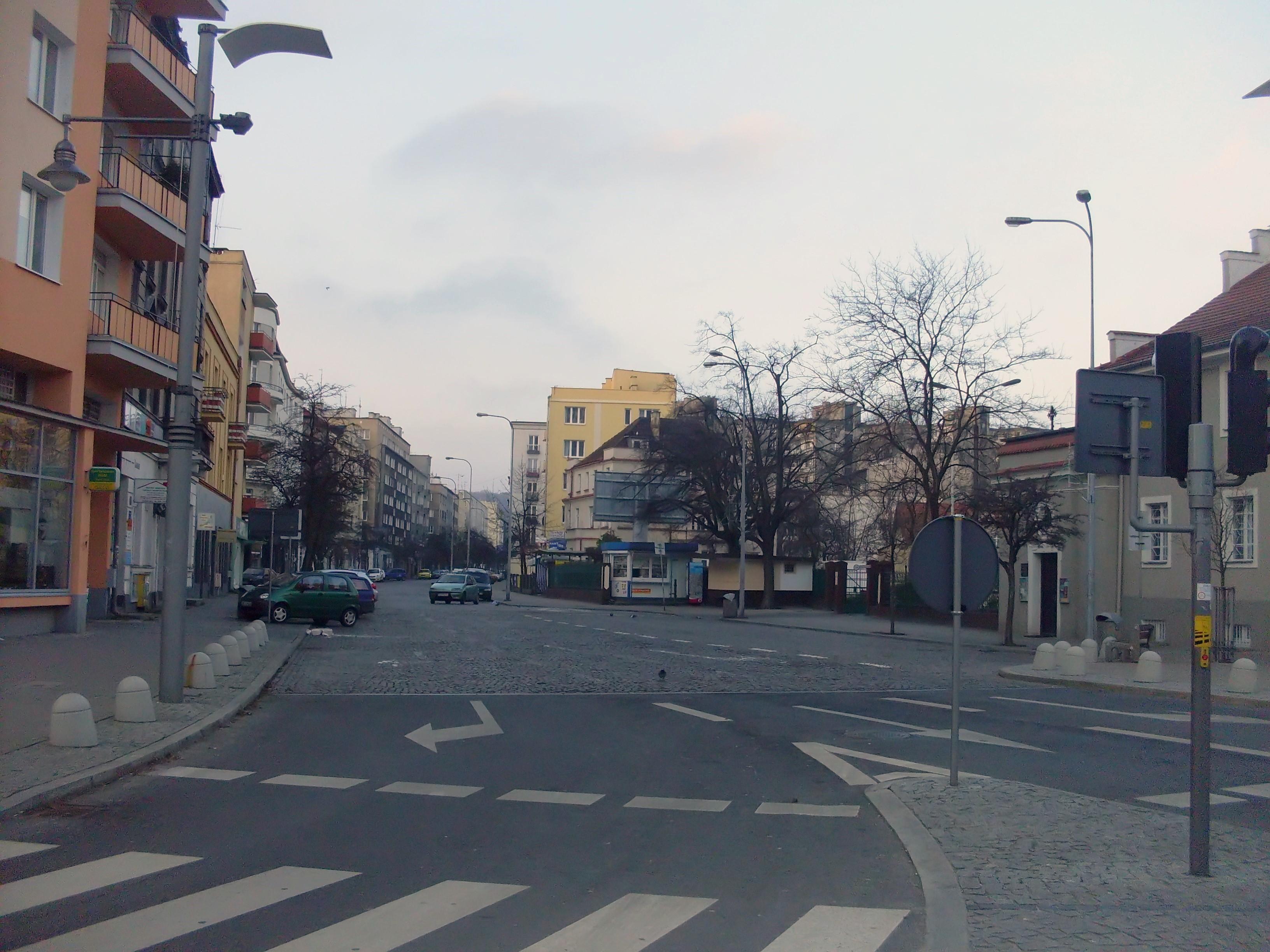 Ulica Starowiejska w Gdyni