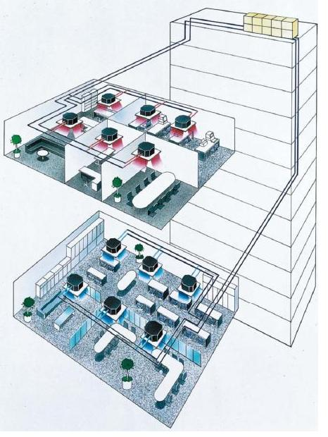 File:VRF System Concept (Multi Split System air conditioner).jpg ...