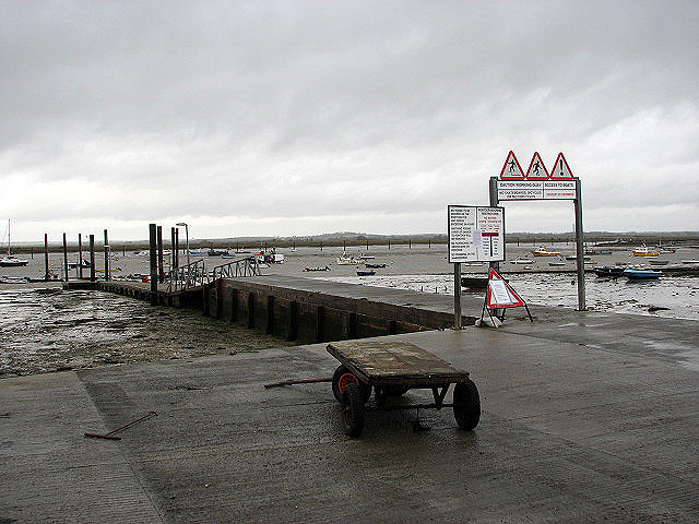 View across Mersea Fleet - geograph.org.uk - 665567
