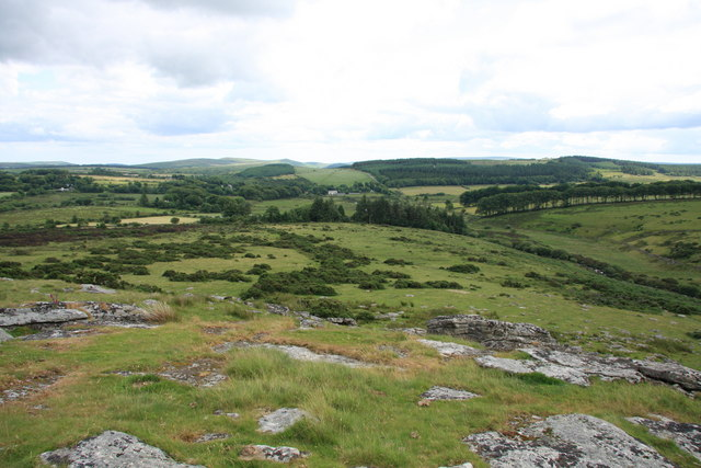 View from Hartland Tor - geograph.org.uk - 1391045