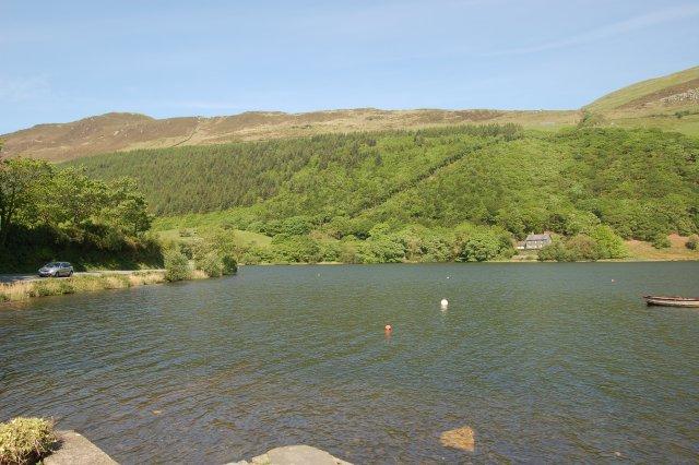 West end of Tal-Y-Llyn lake - geograph.org.uk - 800269