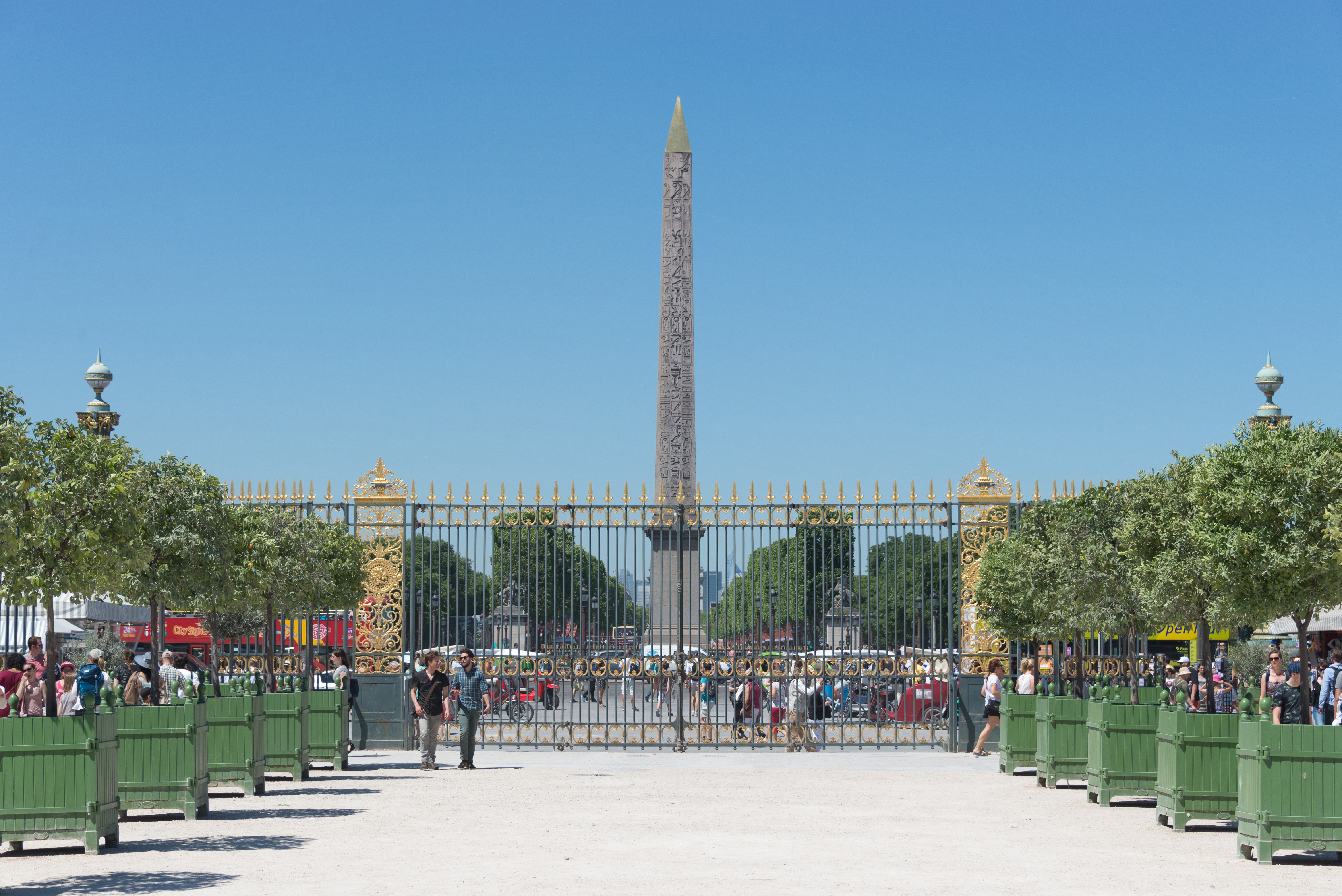 File West Gate Of Jardin Des Tuileries Paris 26 May 2017 Jpg