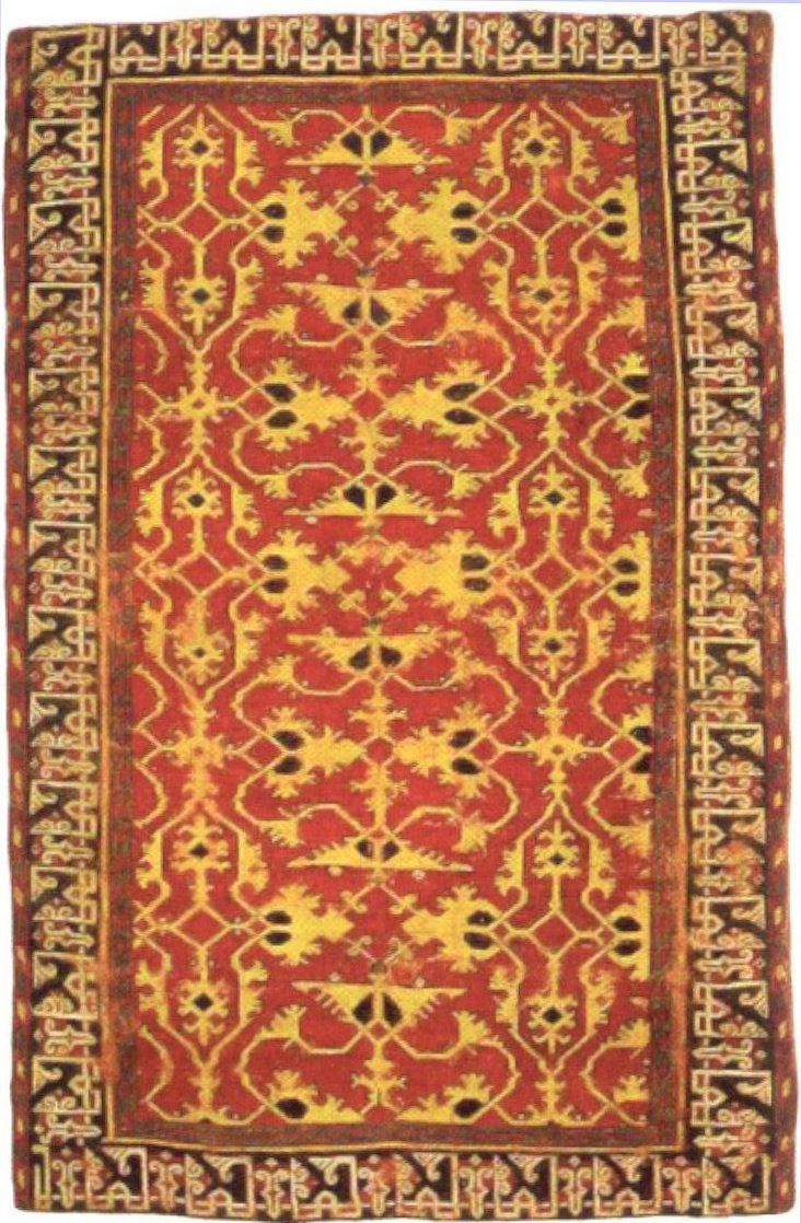 FileWestern Anatolian knotted woll carpet with Lott