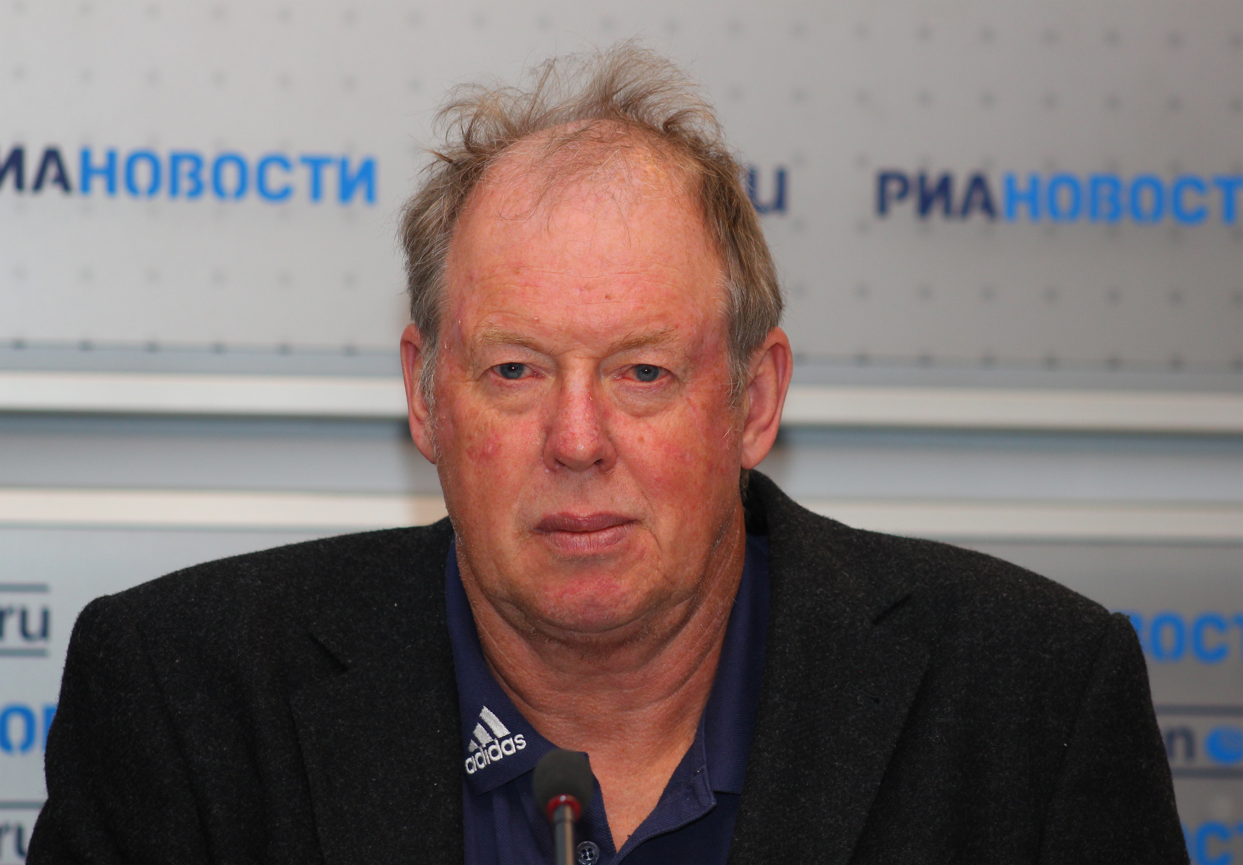 Wolfgang Pichler in Moscow, Russia in May 2011