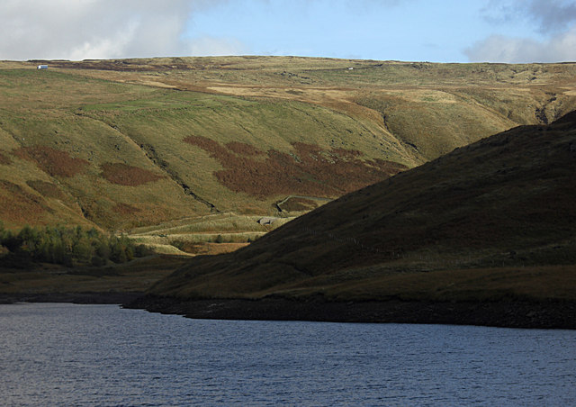 Yeoman Hey Reservoir - geograph.org.uk - 1538121