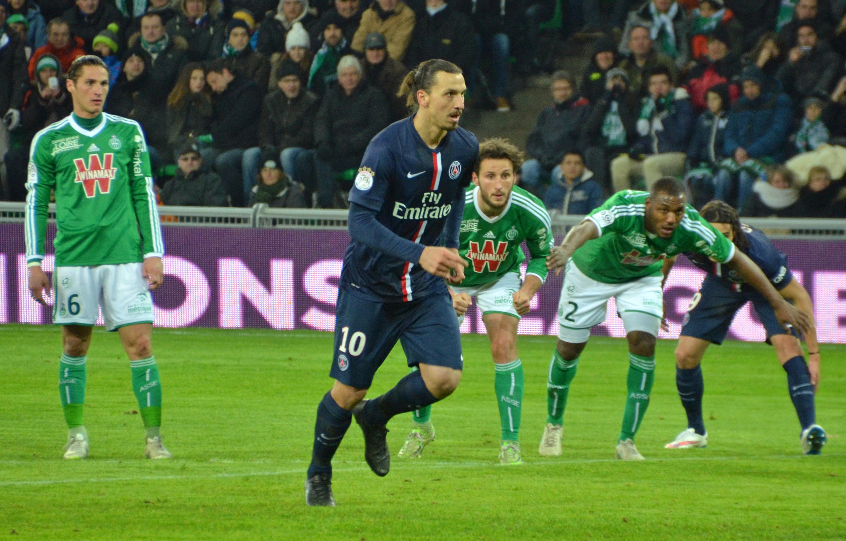 Image result for St-Etienne vs Paris Saint-Germain