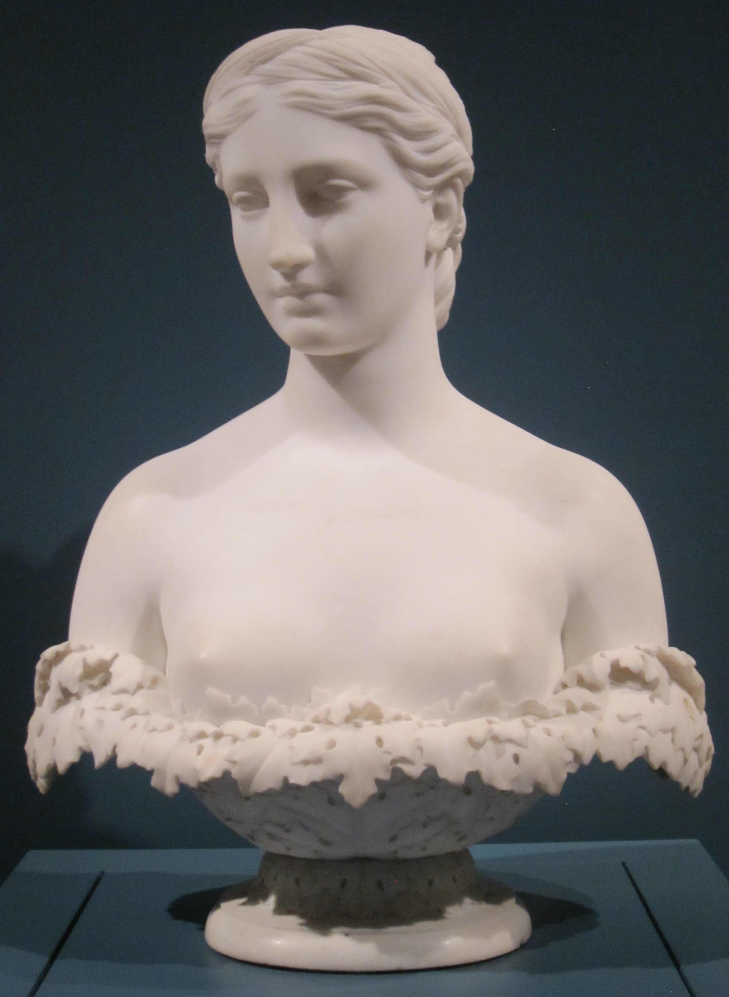 File Proserpine Marble Bust By Hiram Powers 1844
