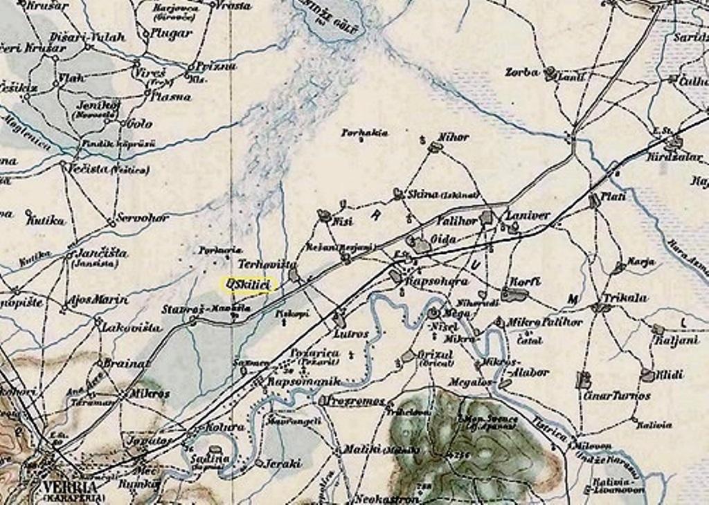 Arxeio Xarths Kentrikhs Makedonias 1887 Jpg Bikipaideia