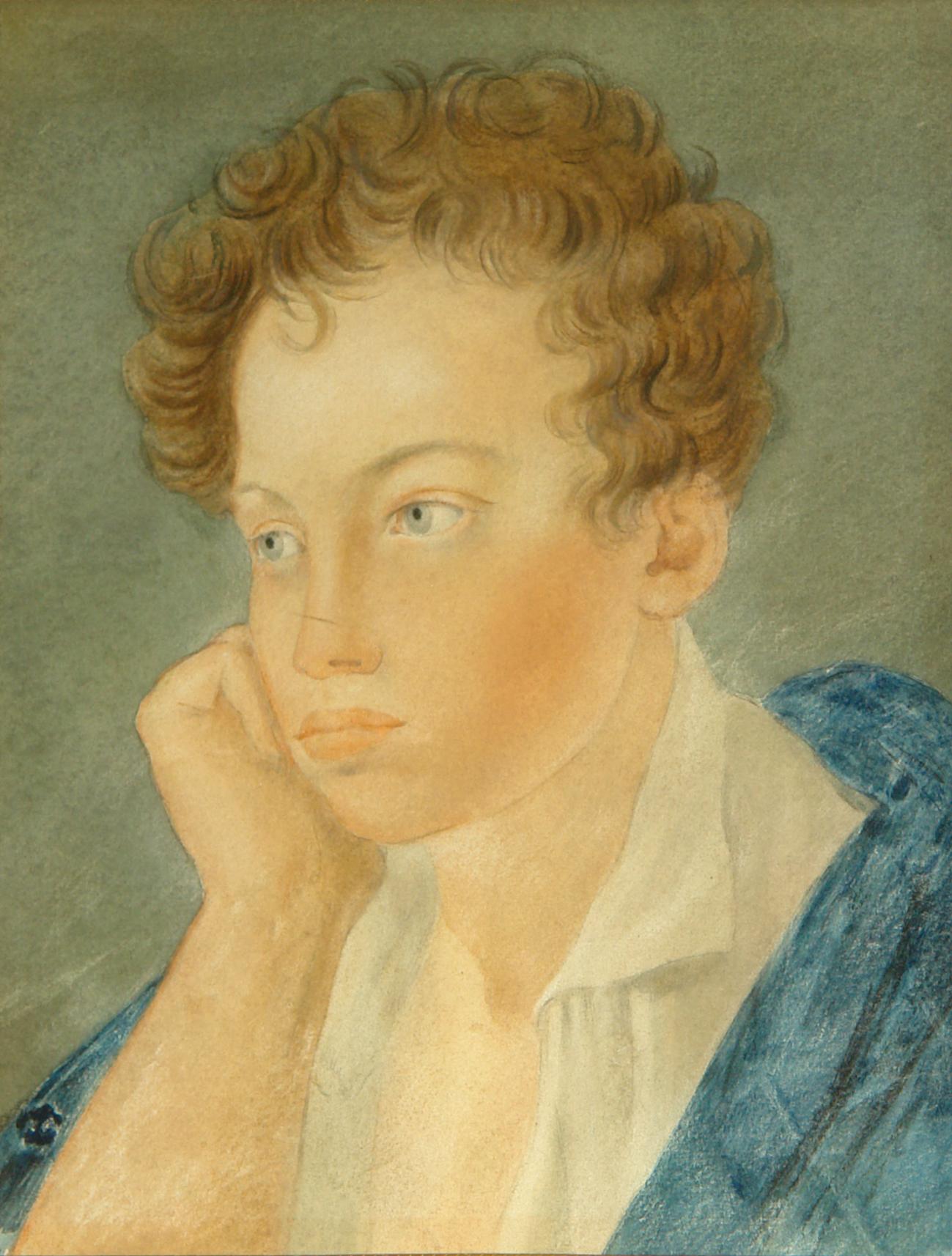 С. Г. Чириков - Александр Сергеевич Пушкин (акварель).jpg