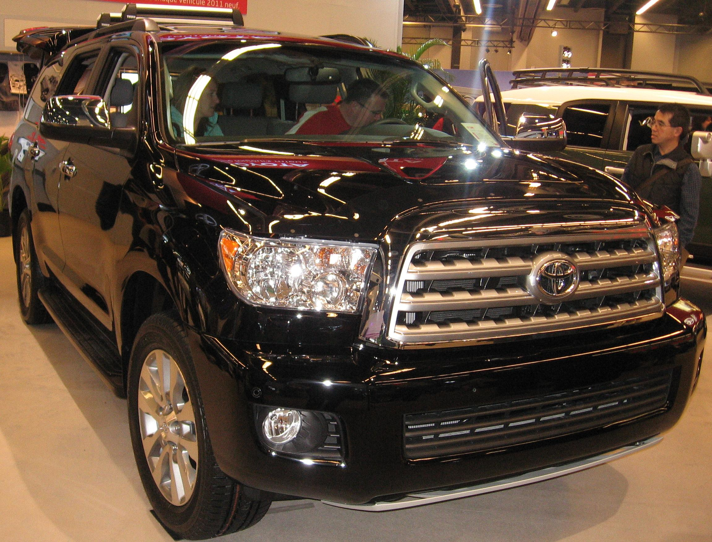 the cars limited to miles new sequoia or more last toyota most likely top