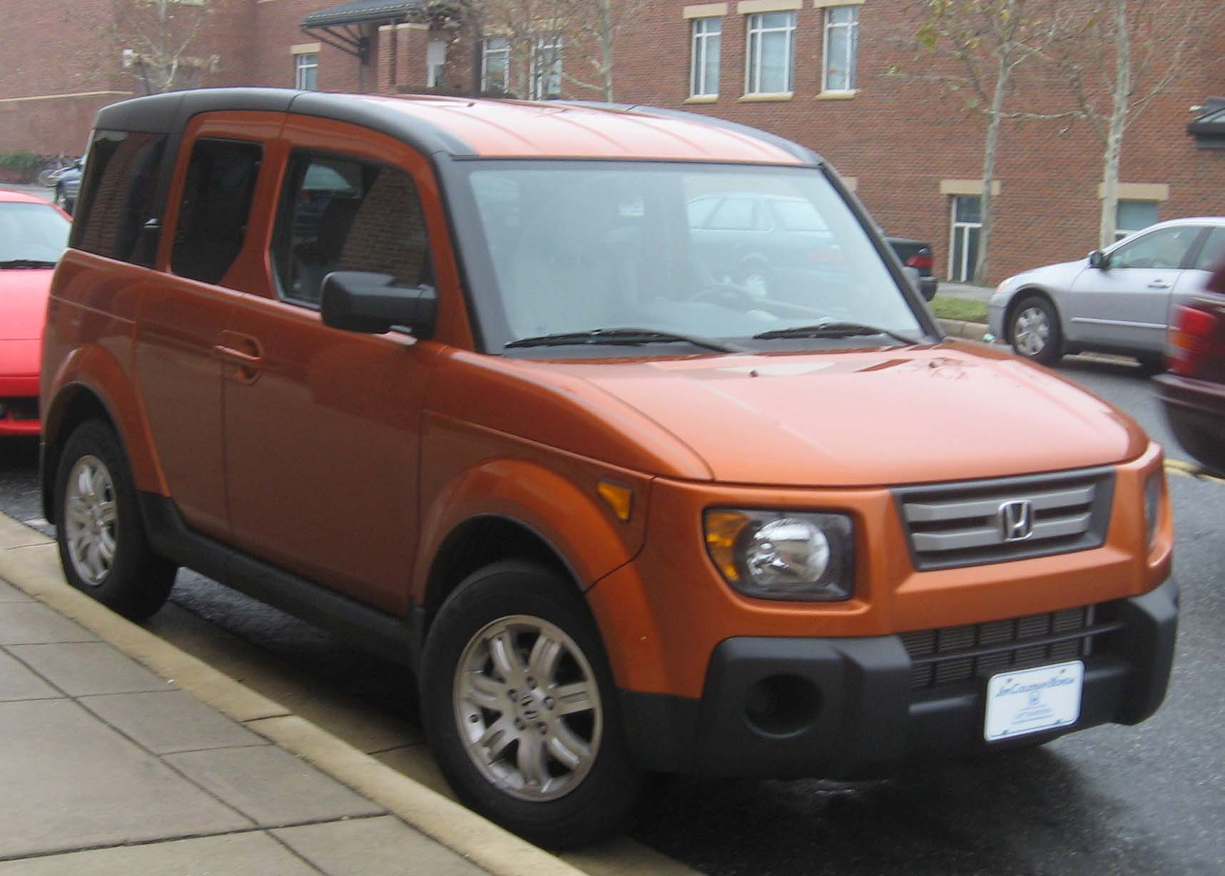 2007 honda element   viewing gallery
