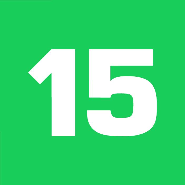 15min logo