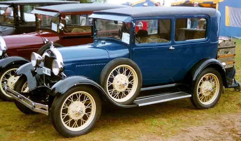 Model A Tudor Car Cover