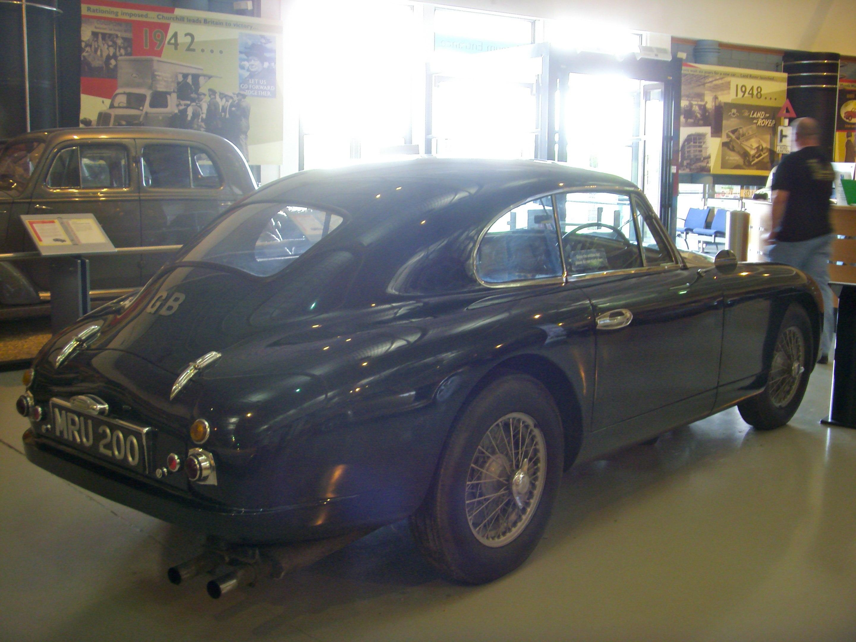 File 1952 Aston Martin Db2 Heritage Motor Centre Gaydon 1 Jpg Wikimedia Commons