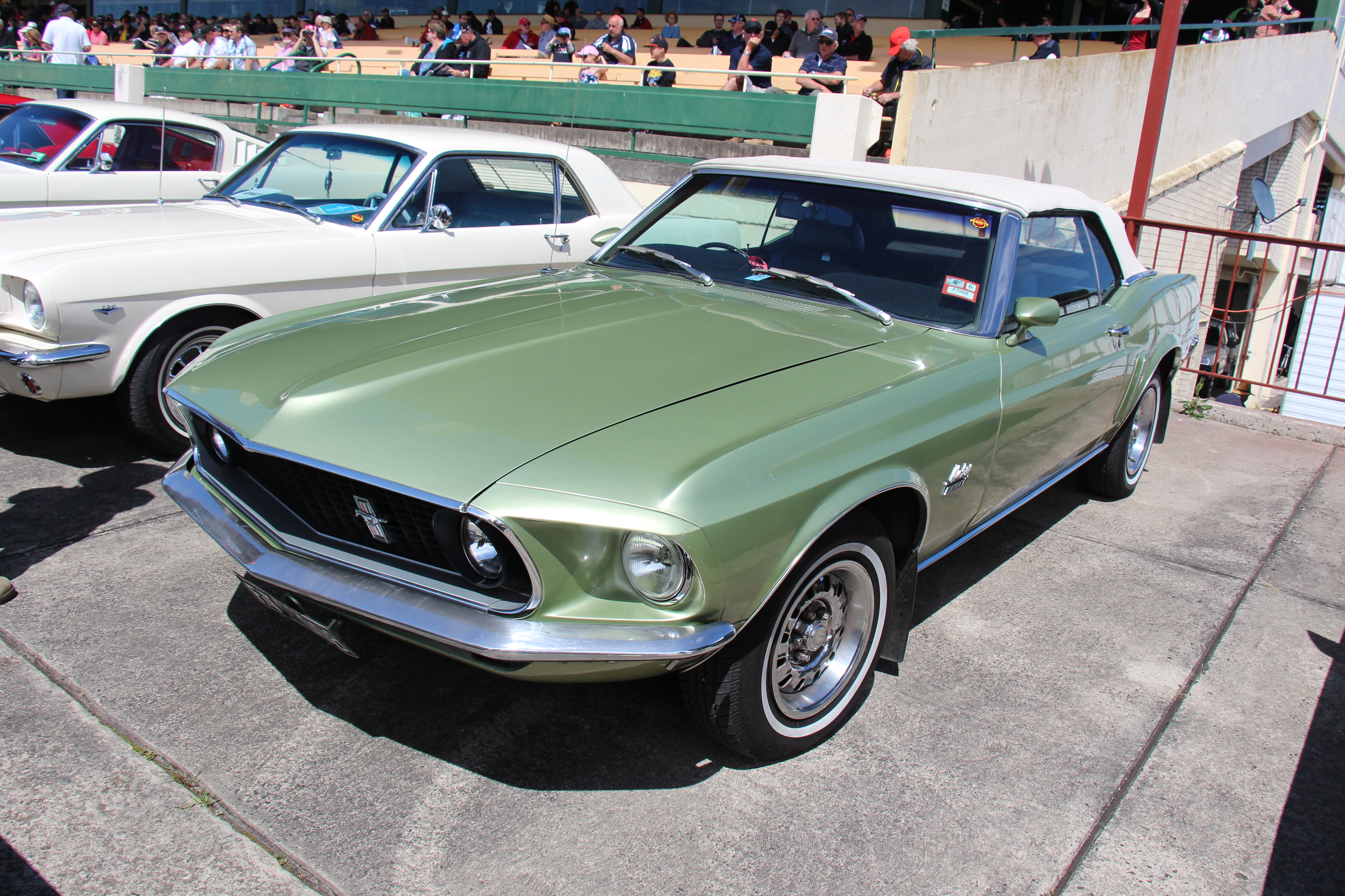 File 1969 Ford Mustang Convertible 15603985688 Jpg Wikimedia