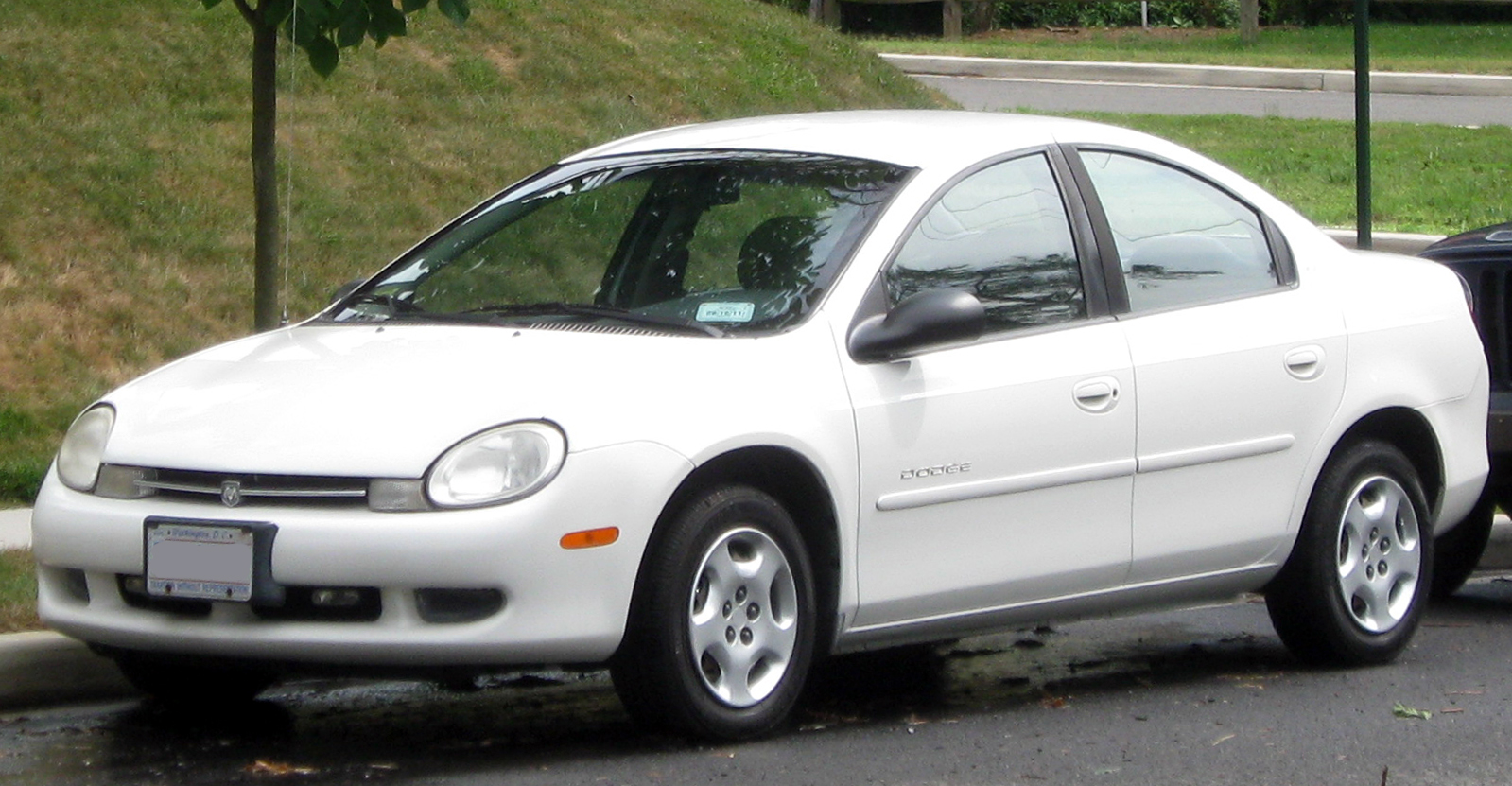 Dodge Neon on 2000 Dodge Dakota White 4 Door