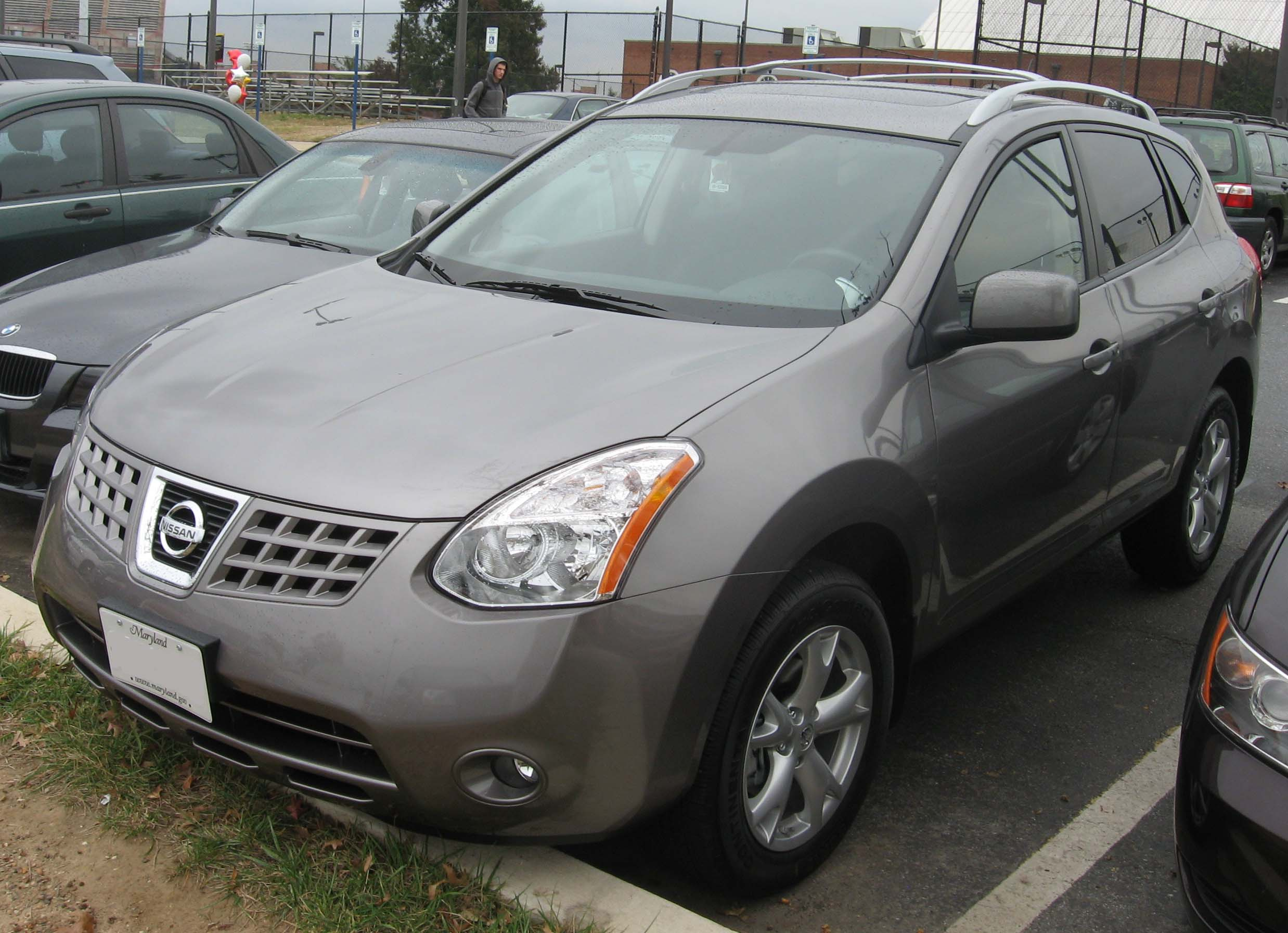 File 2008 Nissan Rogue 2 5sl Jpg