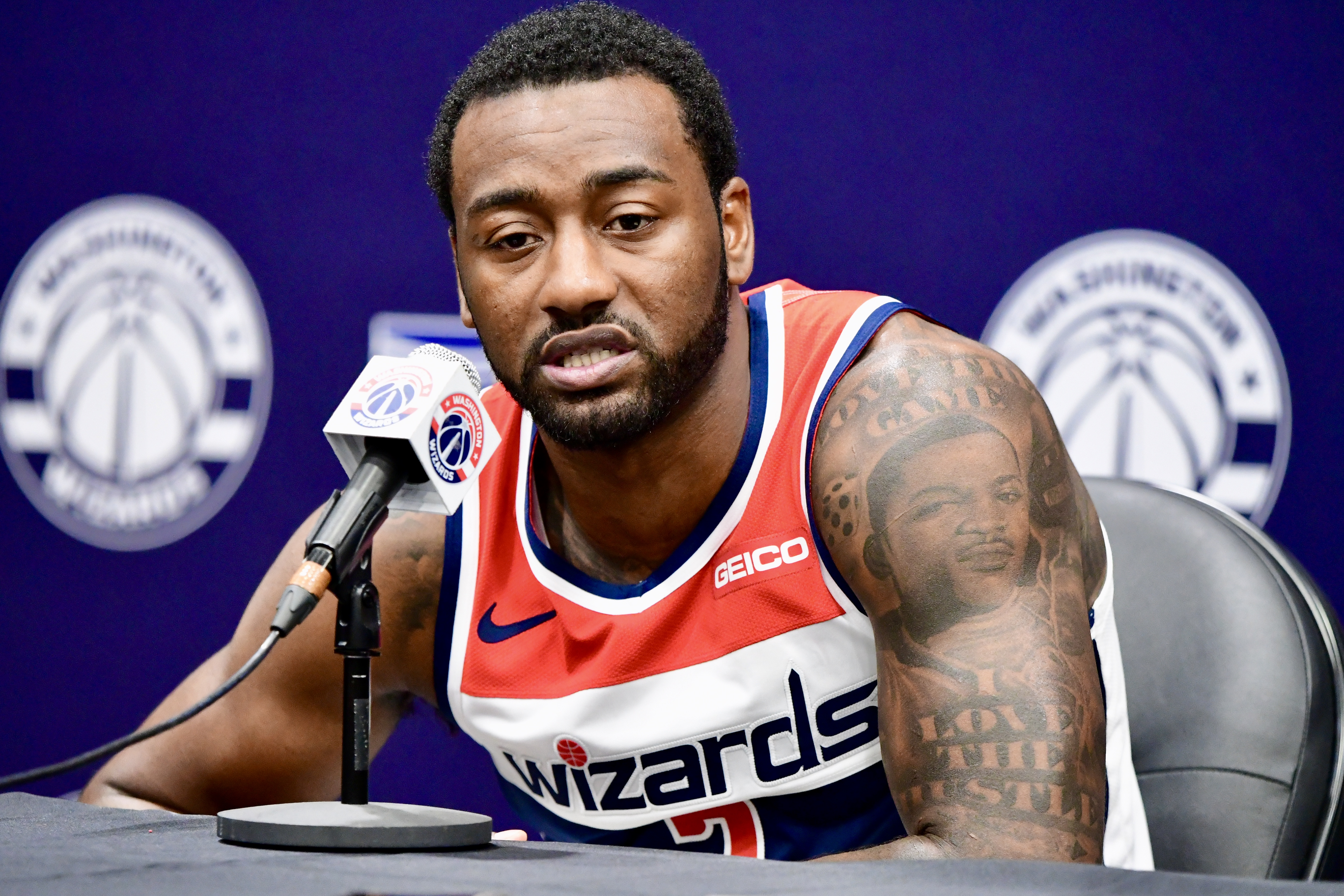 The 31-year old son of father John Carroll Wall, Sr. and mother Frances Pulley John Wall in 2021 photo. John Wall earned a 7.4 million dollar salary - leaving the net worth at 22 million in 2021
