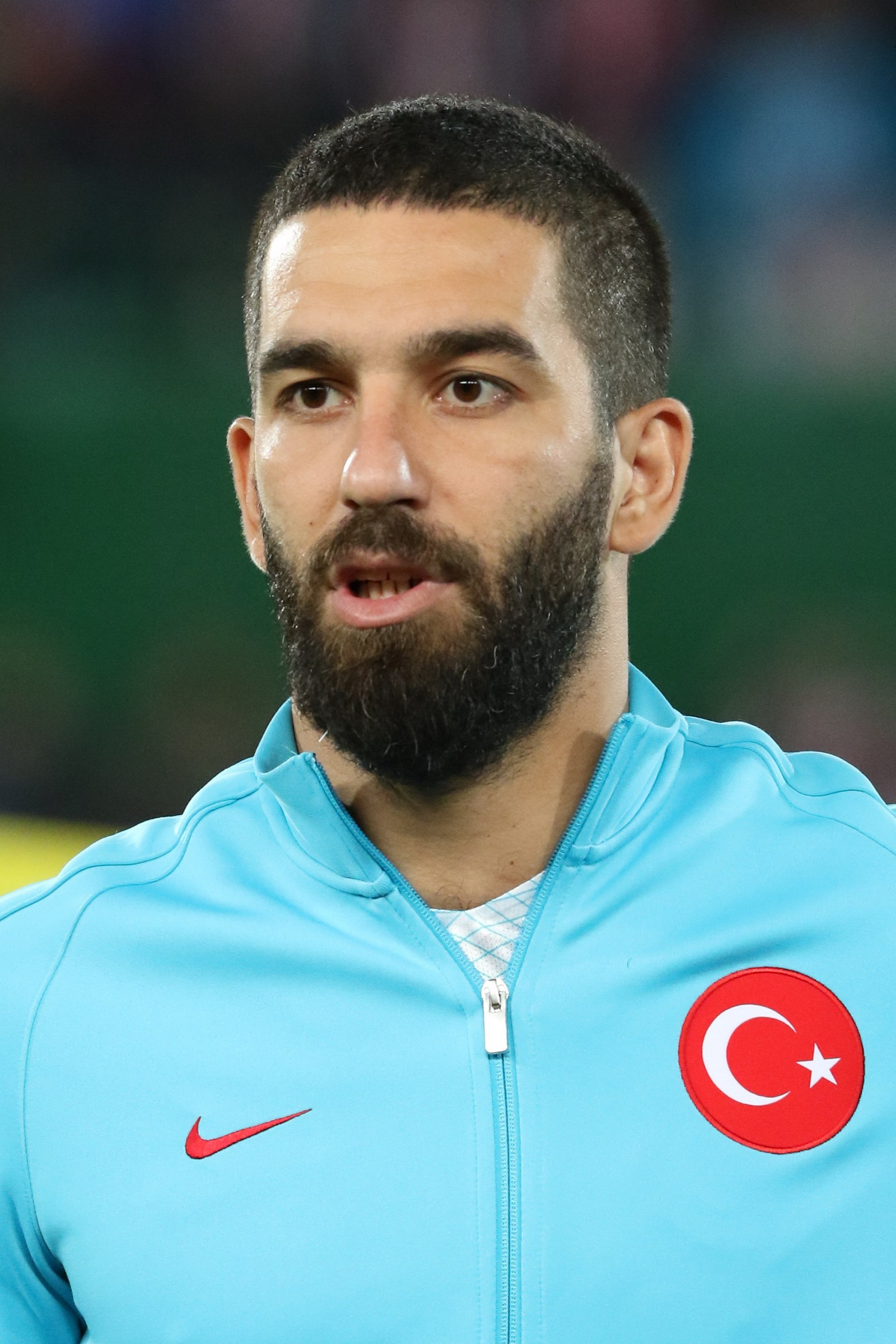 The 31-year old son of father Musa Turan and mother Fatma Turan Arda Turan in 2018 photo. Arda Turan earned a 8.5 million dollar salary - leaving the net worth at 38 million in 2018
