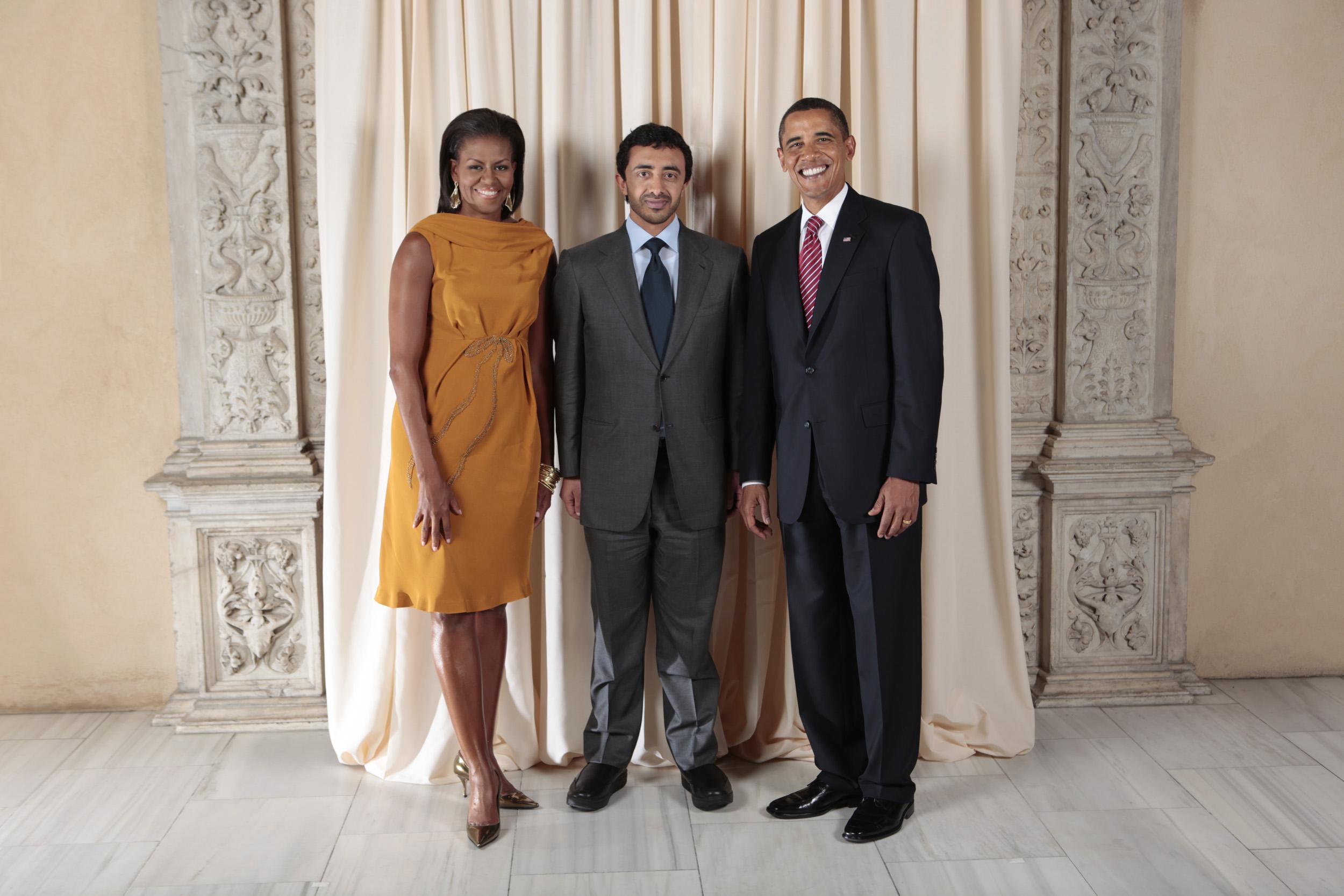 File Abdullah Bin Zayed Al Nahyan With Obamas Jpg
