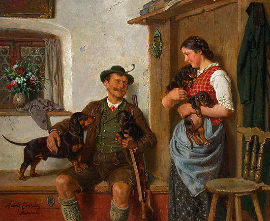 Adolf Eberle Dackelfamilie.jpg