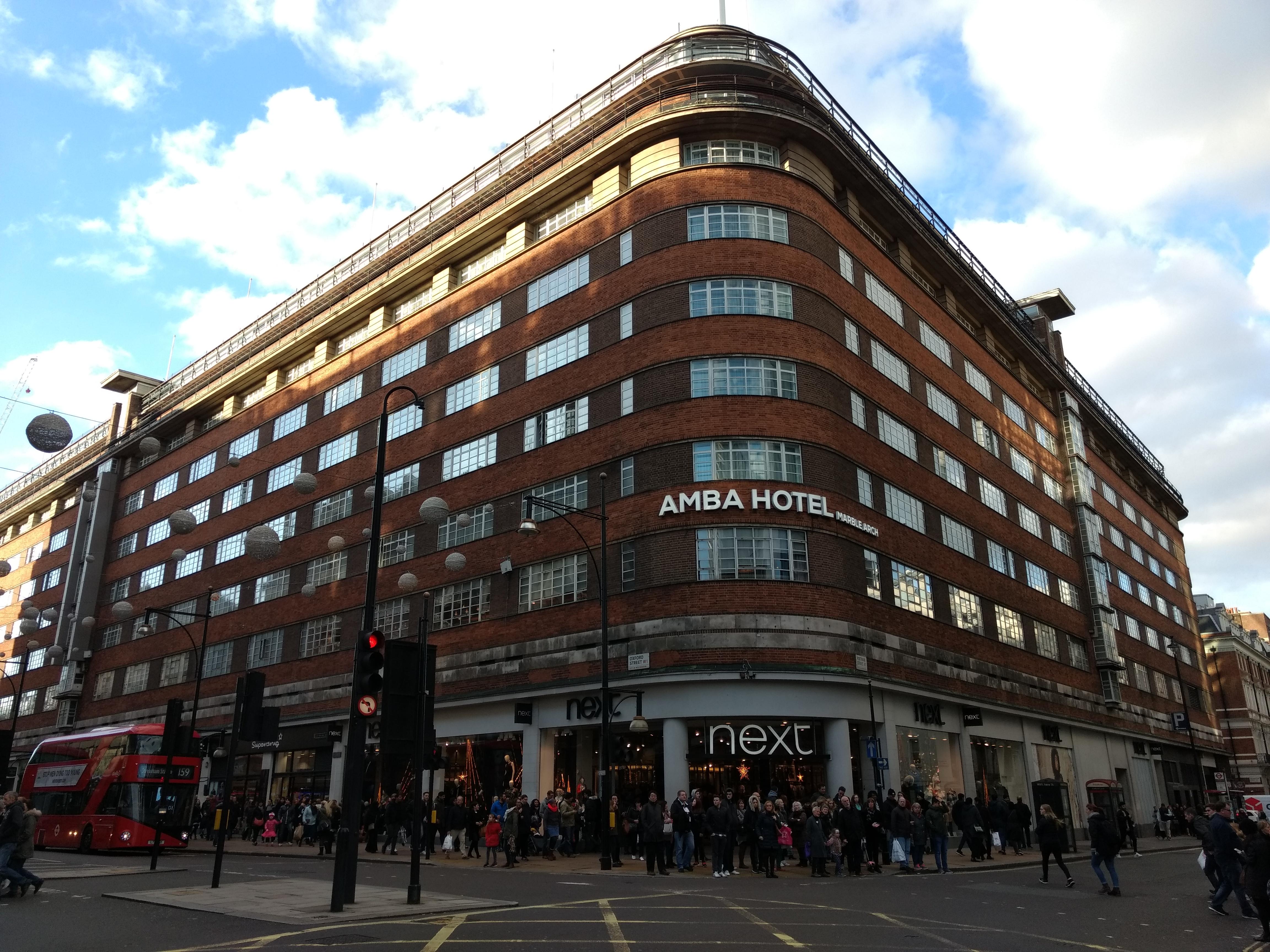 Amba Hotel Marble Arch Bryanston St Marylebone London Wh Eh