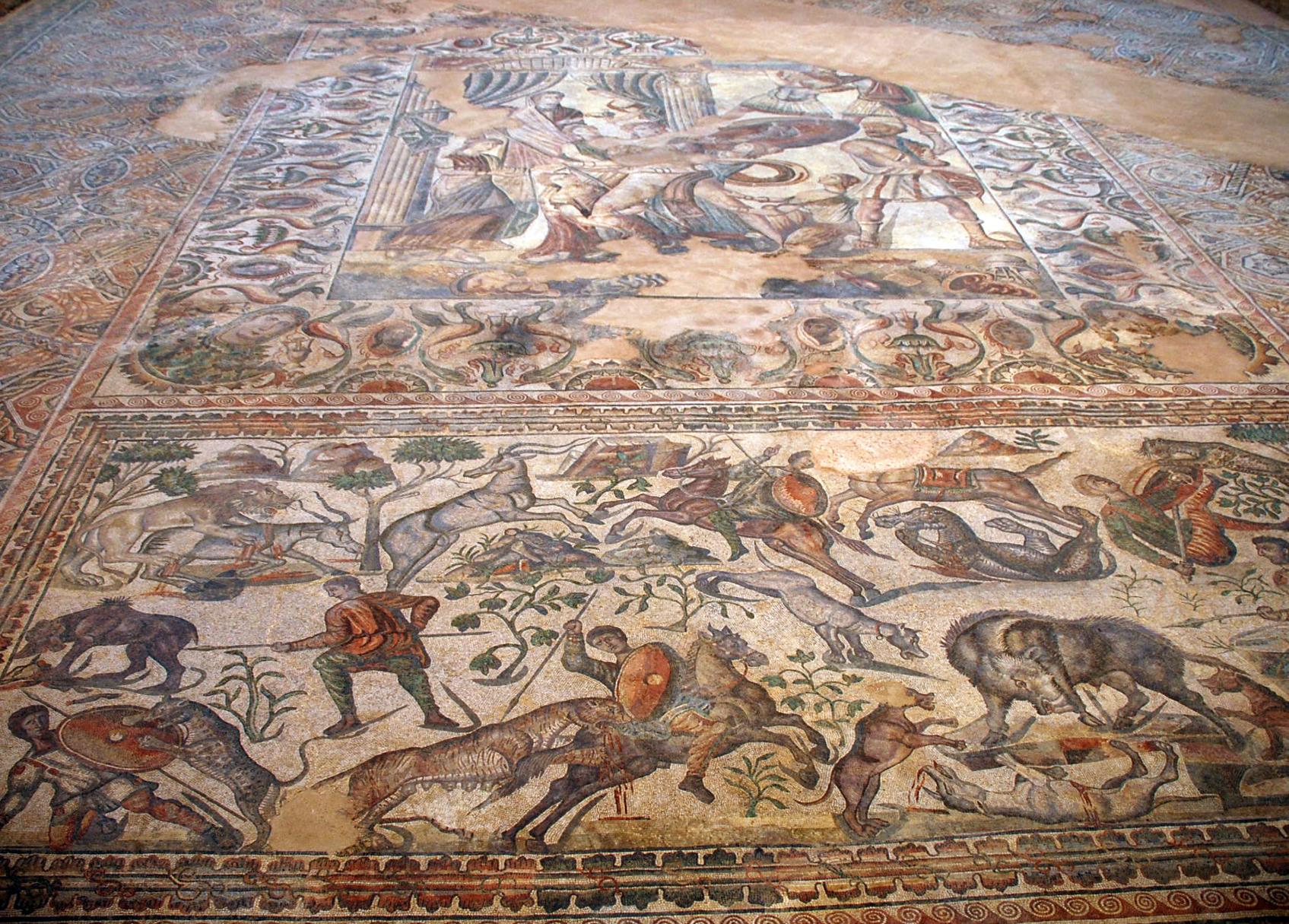 File ancient roman mosaics villa romana la olmeda 000 pedrosa de la vega sa - La villa romaine antique ...