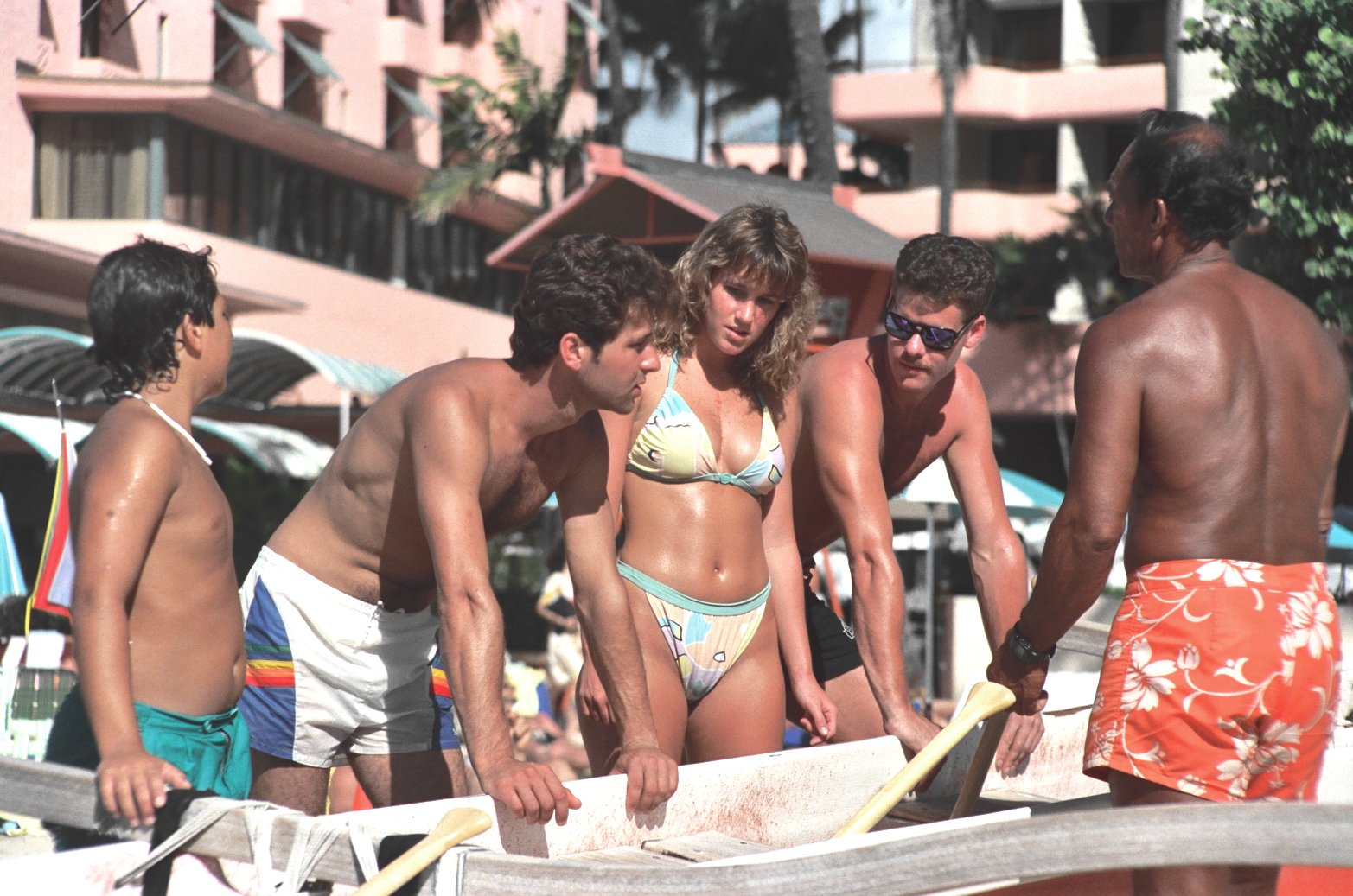 File:At Waikiki Beach, 1988.jpg