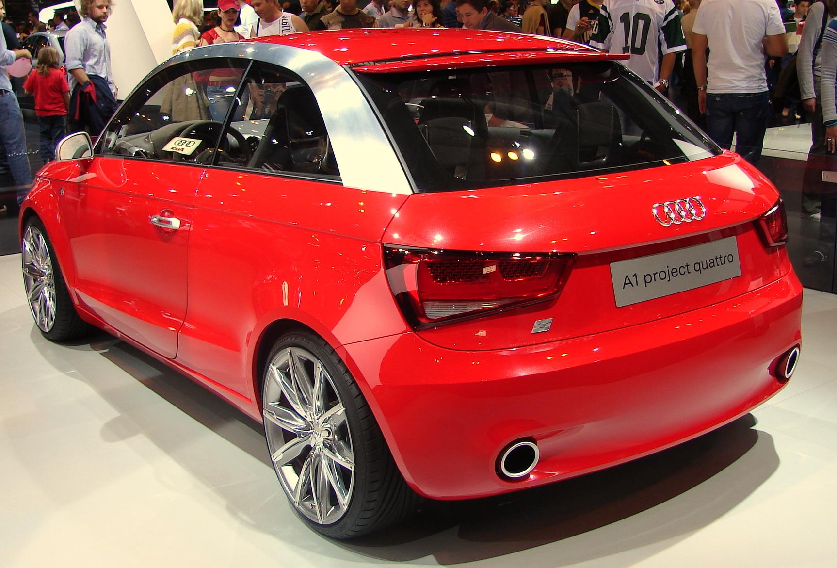 File Audi A1 En El Salon Del Automovil De Madrid Jpg
