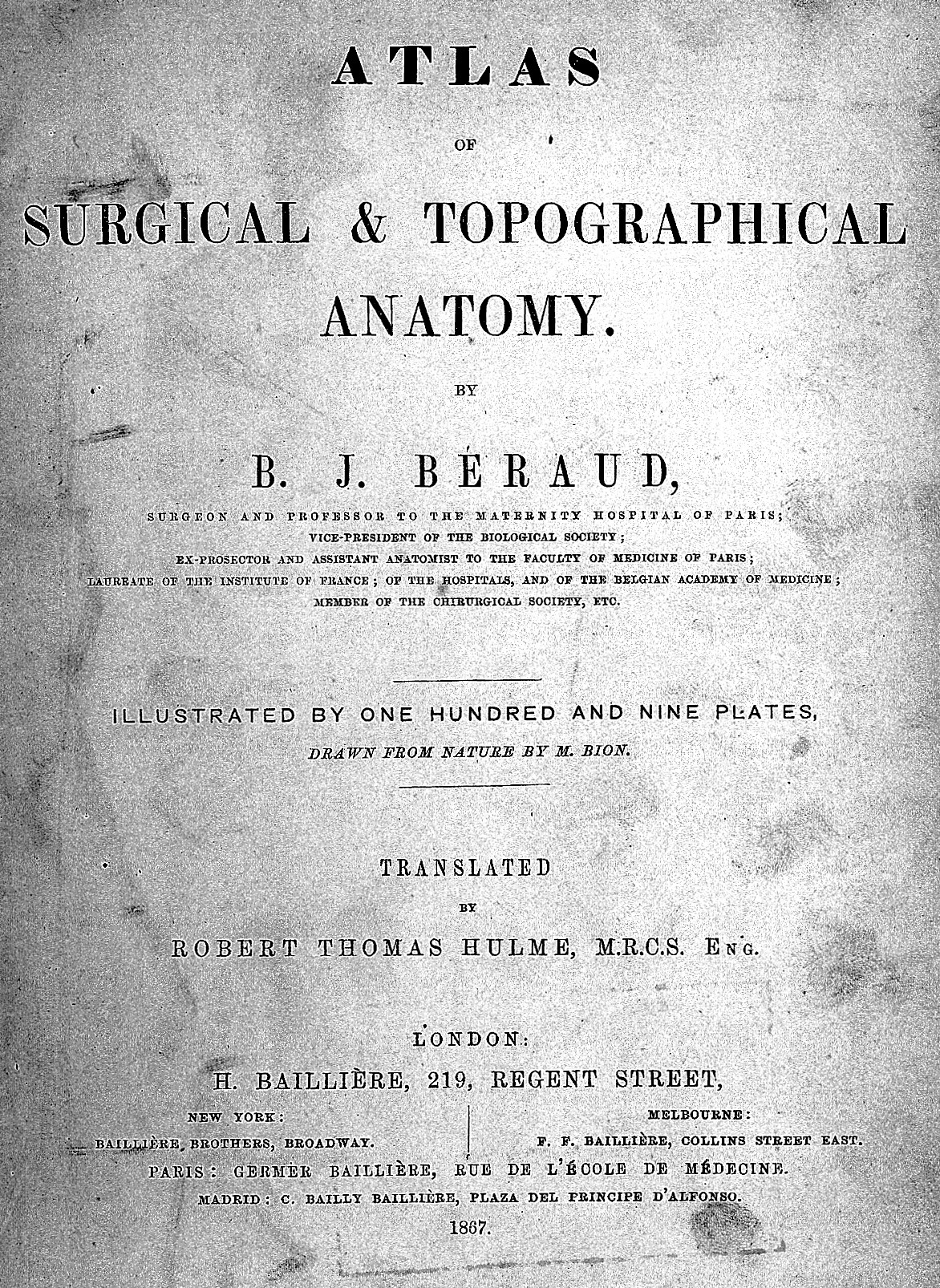 Fileb J Beraud Atlas Of Surgical And Topographical Anatomy