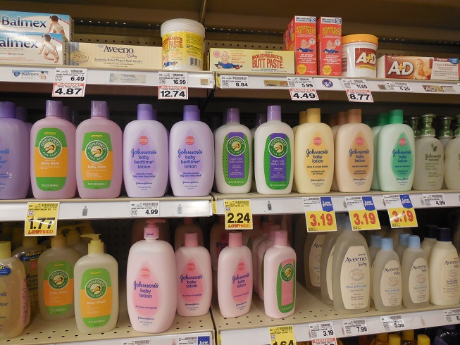 Baby Bath Products on Kroger Shelves.JPG