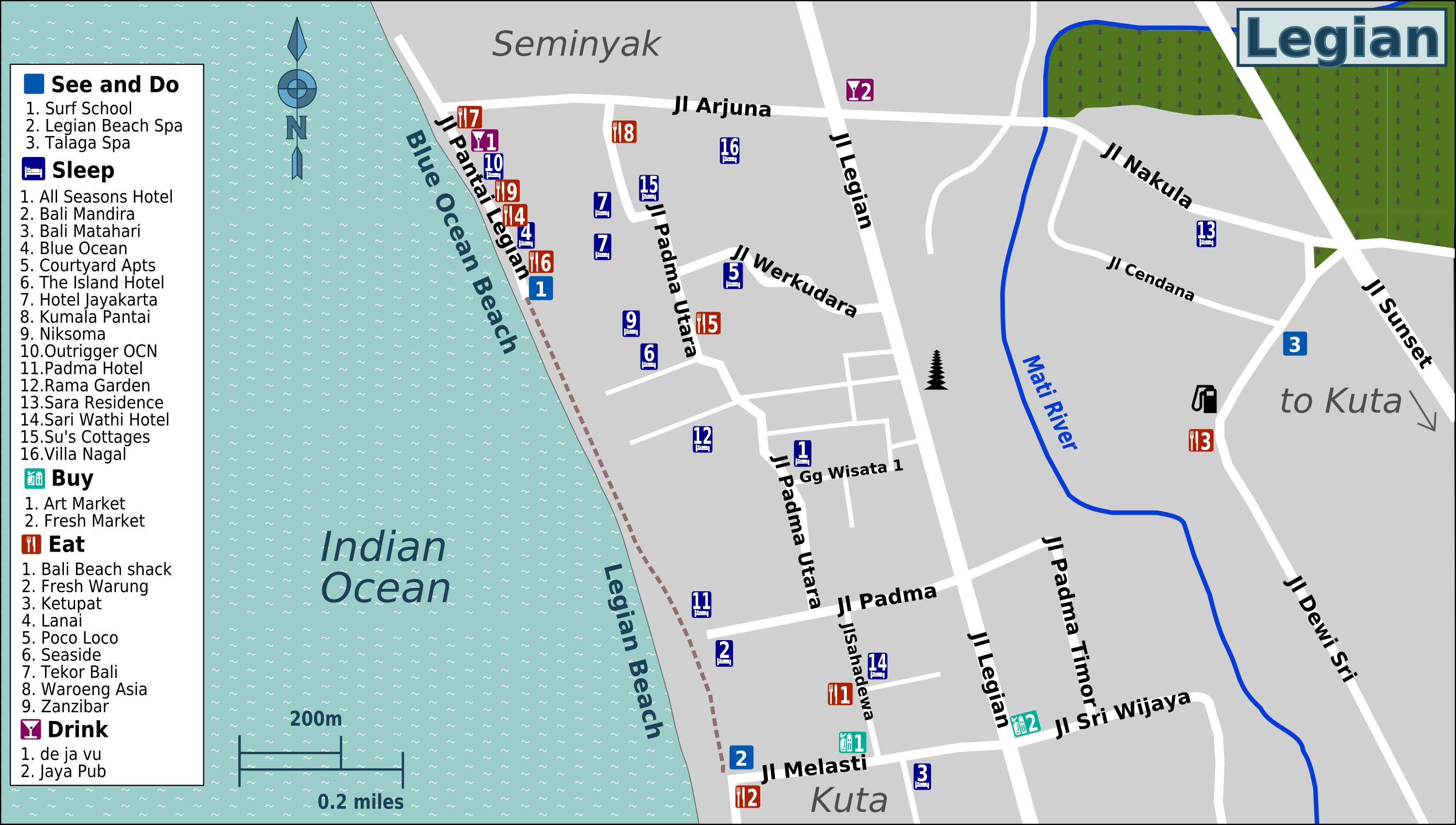 What Is A Large Scale Map File:Bali Legian Large Scale Map.png   Wikimedia Commons What Is A Large Scale Map