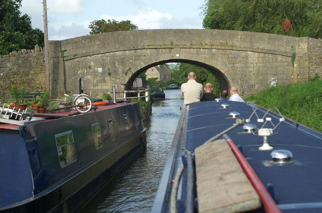 Bathampton Bridge, Kennet and Avon Canal - geograph.org.uk - 182490
