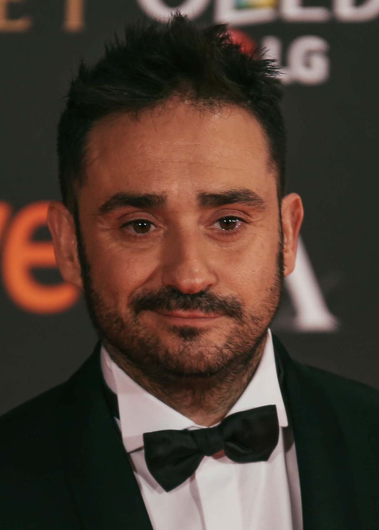 Bayona at the 2017 [[Goya Awards]]