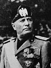 بينيتو موسوليني