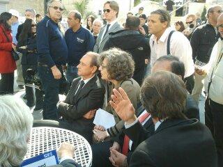 Bertrand Delanoë in The inauguration ceremony renovation Paris Square in Haifa (10).jpg