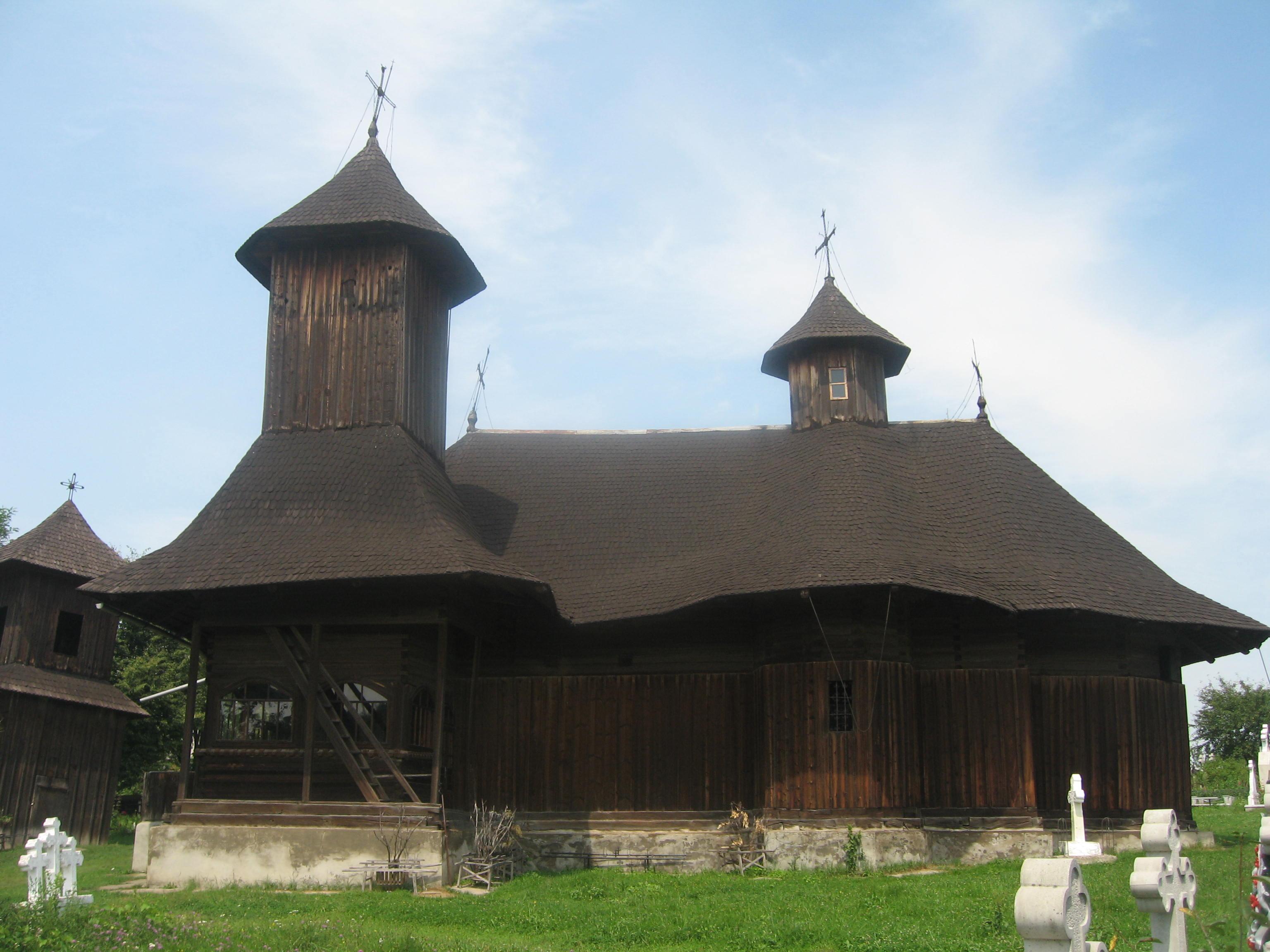 Biserica de lemn din Botoșana