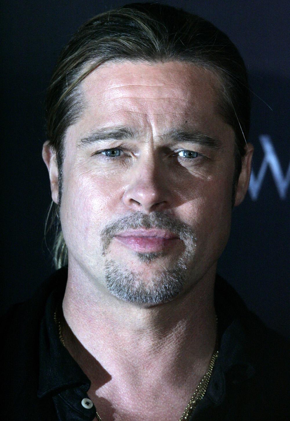 Brad Pitt Größe