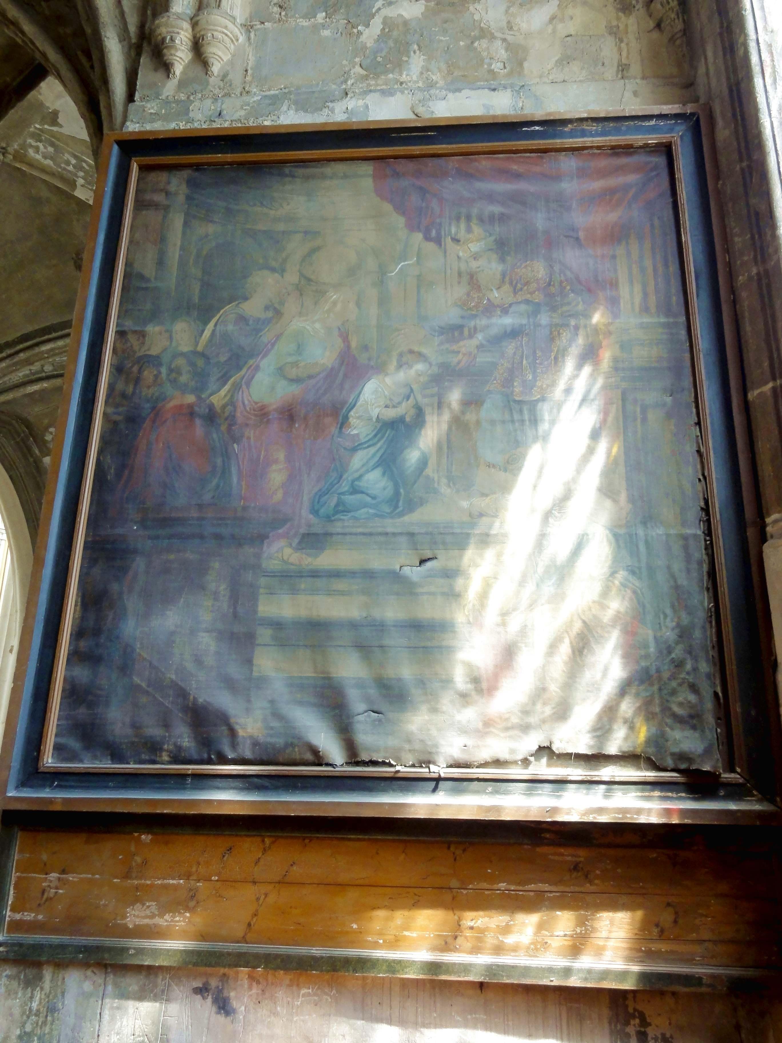 Fichier brie comte robert 77 glise saint tienne bas c t sud chapelle de la 1 re trav e - Meubles carla brie comte robert ...